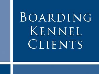 Boarding Kennel Client List